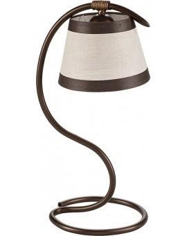 Tischlampe Nachtlampe ALBA braun 1-flg 19107