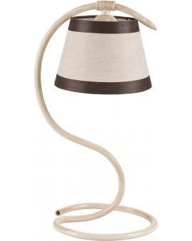 Tischlampe Nachtlampe ALBA cremig 19108