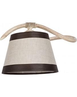 Wandlampe Wandleuchte ALBA cremig 19110