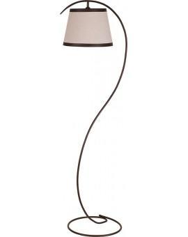 Stehlampe Standlampe ALBA braun 19111