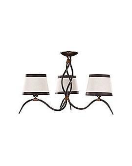 Ceiling lamp ETNA 3 brown 19203 Sigma