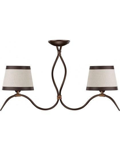 Ceiling lamp ETNA 2 brown 19205 Sigma