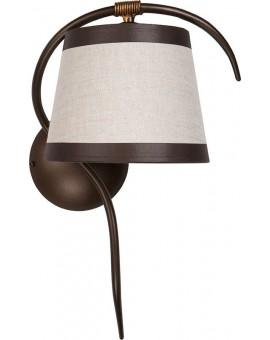 Wall lamp ETNA brown 19209 Sigma