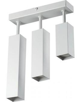 Ceiling lamp FAN SLIM 3 slant white 20421 Sigma