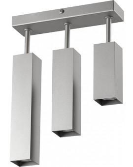 Ceiling lamp FAN SLIM 3 slant SREBRNY 20423 Sigma