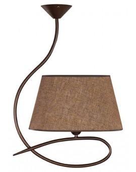 Deckenlampe Deckenleuchte Plafond SENSO Braun 1-flg 16305