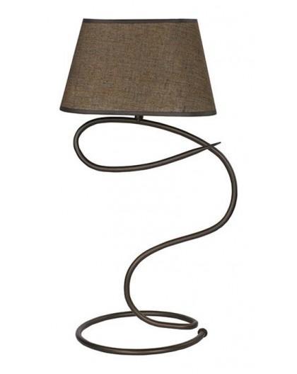 Tischlampe Nachtlampe SENSO Braun 1-flg 16307