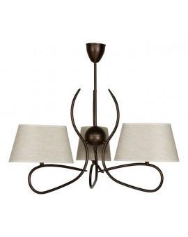 Lampa sufitowa Żyrandol SENSO JASNY 3Pł Sigma 16310