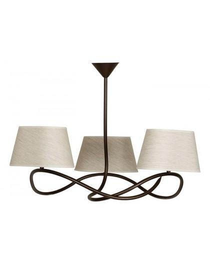 Lampa sufitowa Plafon  SENSO JASNY 3Pł Sigma 16311