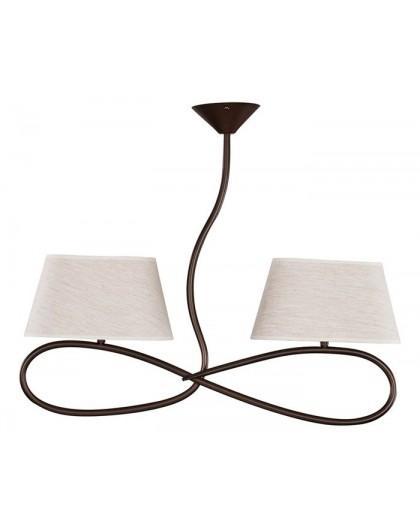 Lampa sufitowa Plafon SENSO JASNY 2Pł Sigma 16312