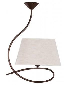 Deckenlampe Deckenleuchte Plafond SENSO Beige 1-flg 16313