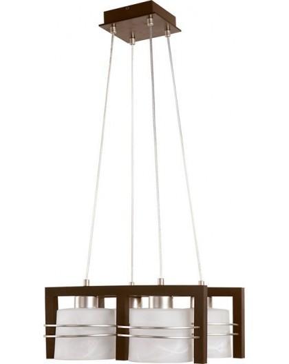 Deckenlampe Hängelampe CARLO Wenge 4-flg 07002