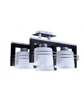 Deckenlampe Deckenleuchte CARLO Wenge 4-flg 07022