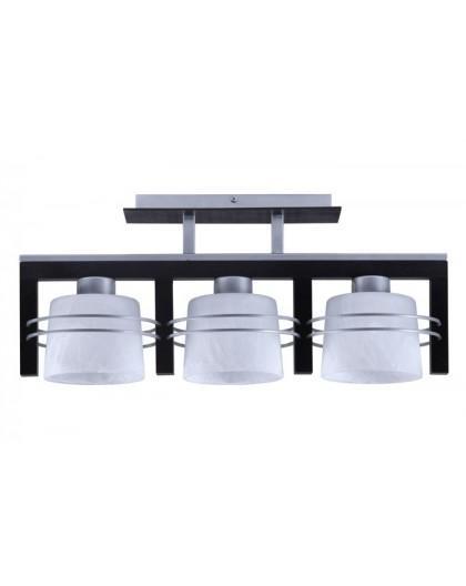 Deckenlampe Deckenleuchte CARLO Wenge 3-flg 07020