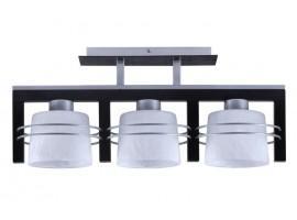Lampa sufitowa Plafon CARLO WENGE 3Pł Sigma 07020
