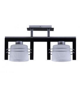 Lampa sufitowa Plafon CARLO WENGE 2Pł Sigma 07018