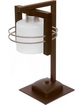 Lampa biurkowa CARLO WENGE 1Pł Sigma 07012