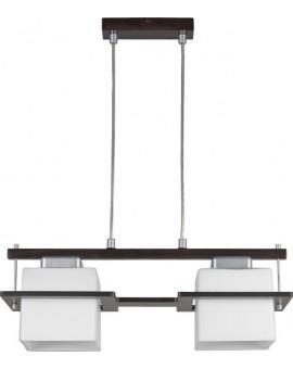 Lampa sufitowa wisząca DELTA WENGE 2Pł Sigma 10703