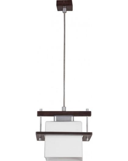 Lampa sufitowa wisząca DELTA WENGE 1Pł Sigma 10704
