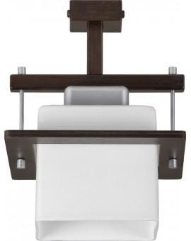 Lampa sufitowa Plafon  DELTA WENGE 1Pł Sigma 10708