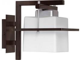 Wandlampe Wandleuchte DELTA WENGE 1-flg 10709