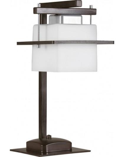 Tischlampe Nachtlampe Schreibtischlampe DELTA WENGE 1-flg 10710