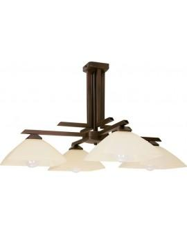 Ceiling lamp Chandelier KENT brown Sigma 07202