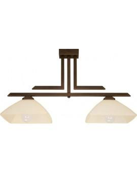 Ceiling lamp KENT brown Sigma 07214