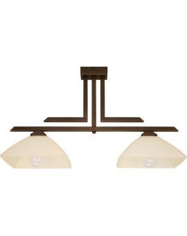 Deckenlampe Deckenleuchte klassisch KENT Braun 07214