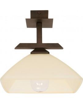 Lampa sufitowa Plafon  KENT BRĄZOWY  1Pł Sigma 07216