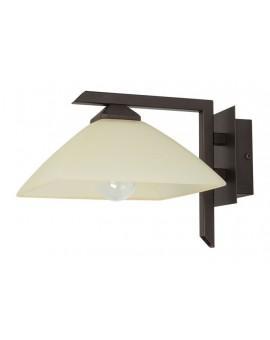 Wandlampe Wandleuchte klassisch KENT Braun 07218