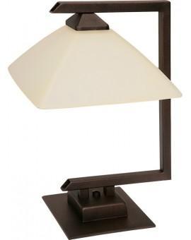 Tischlampe Nachtlampe klassisch nowoczesna KENT Braun 07220