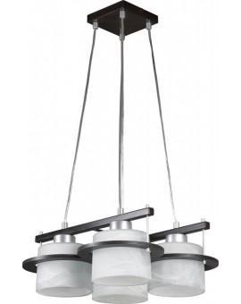 Lampa sufitowa wisząca  KORSO WENGE 4Pł Sigma 11001