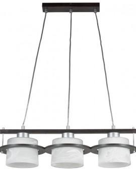 Deckenlampe Hängelampe KORSO WENGE 3-flg 11002