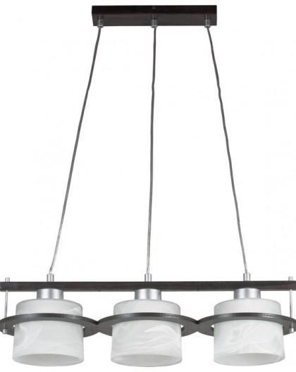 Lampa sufitowa wisząca  KORSO WENGE 3Pł Sigma 11002