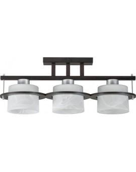 Lampa sufitowa Plafon  KORSO WENGE 3Pł Sigma 11006