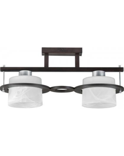 Lampa sufitowa Plafon  KORSO WENGE 2Pł Sigma 11007