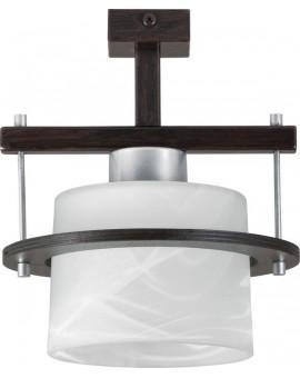 Lampa sufitowa Plafon KORSO WENGE 1Pł Sigma 11008