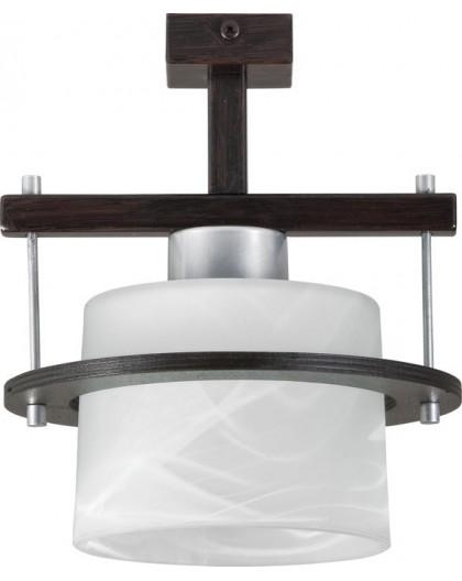 Deckenlampe Plafond Deckenleuchte KORSO WENGE 1-flg 11008