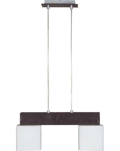 Lampa Zwis OSKAR WENGE 2Pł Sigma 13103