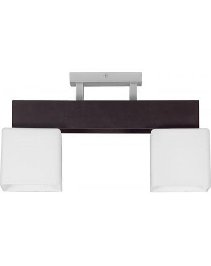 Deckenlampe Deckenleuchte Plafond OSKAR WENGE 2-flg 13107