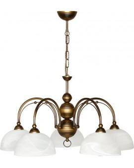 Lampa sufitowa Żyrandol PALOMA CLASSIC 5Pł Sigma 00901