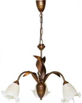 Kronleuchter Deckenlampe klassisch TINA 3-flg 00502