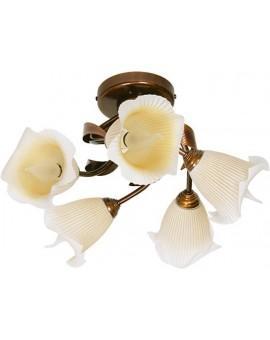 Plafond Deckenlampe klassisch TINA 5-flg 00503