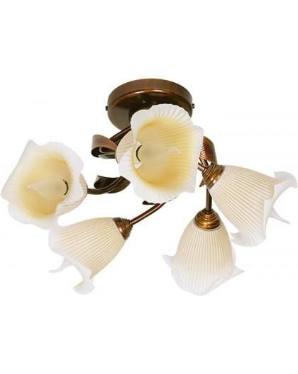 Lampa sufitowa Plafon klasyczny TINA 5Pł Sigma 00503