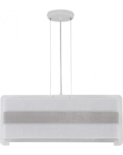 Deckenlampe Hängelampe Stoffschirm Vano 30019
