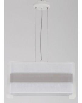 Deckenlampe Hängelampe Stoffschirm Vano 30021