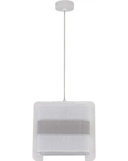Deckenlampe Hängelampe Stoffschirm Vano 30023