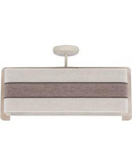 Deckenlampe Plafond Stoffschirm Vano 30024