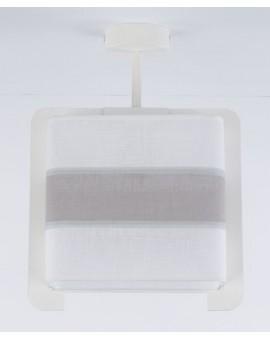 Deckenlampe Plafond Stoffschirm Vano 30029